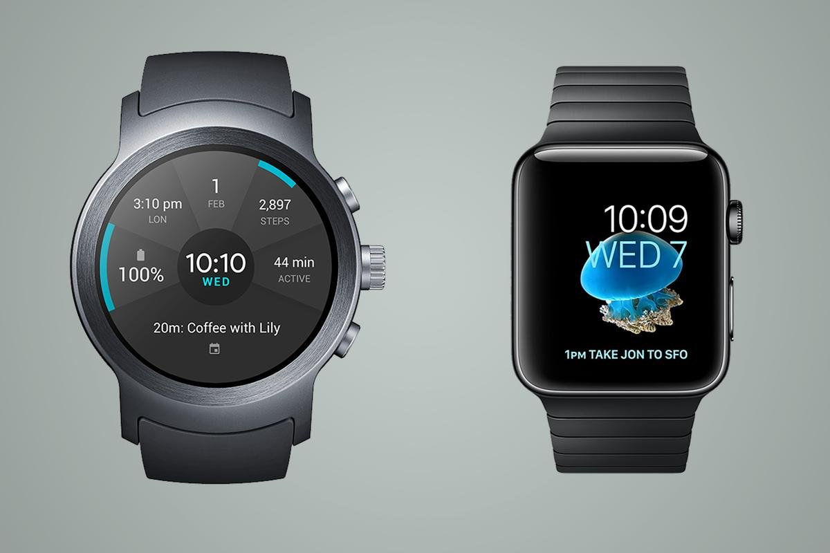 A spec-by-spec comparison of theLGWatchSport and the Apple Watch Series 2