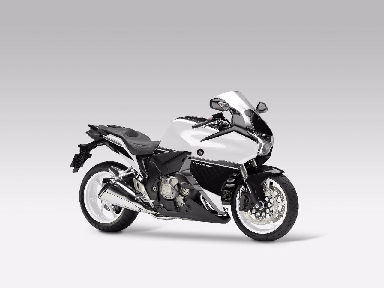 The stock Honda VFR1200F - here shown in the DCT version - offered the foundation for the Burasca