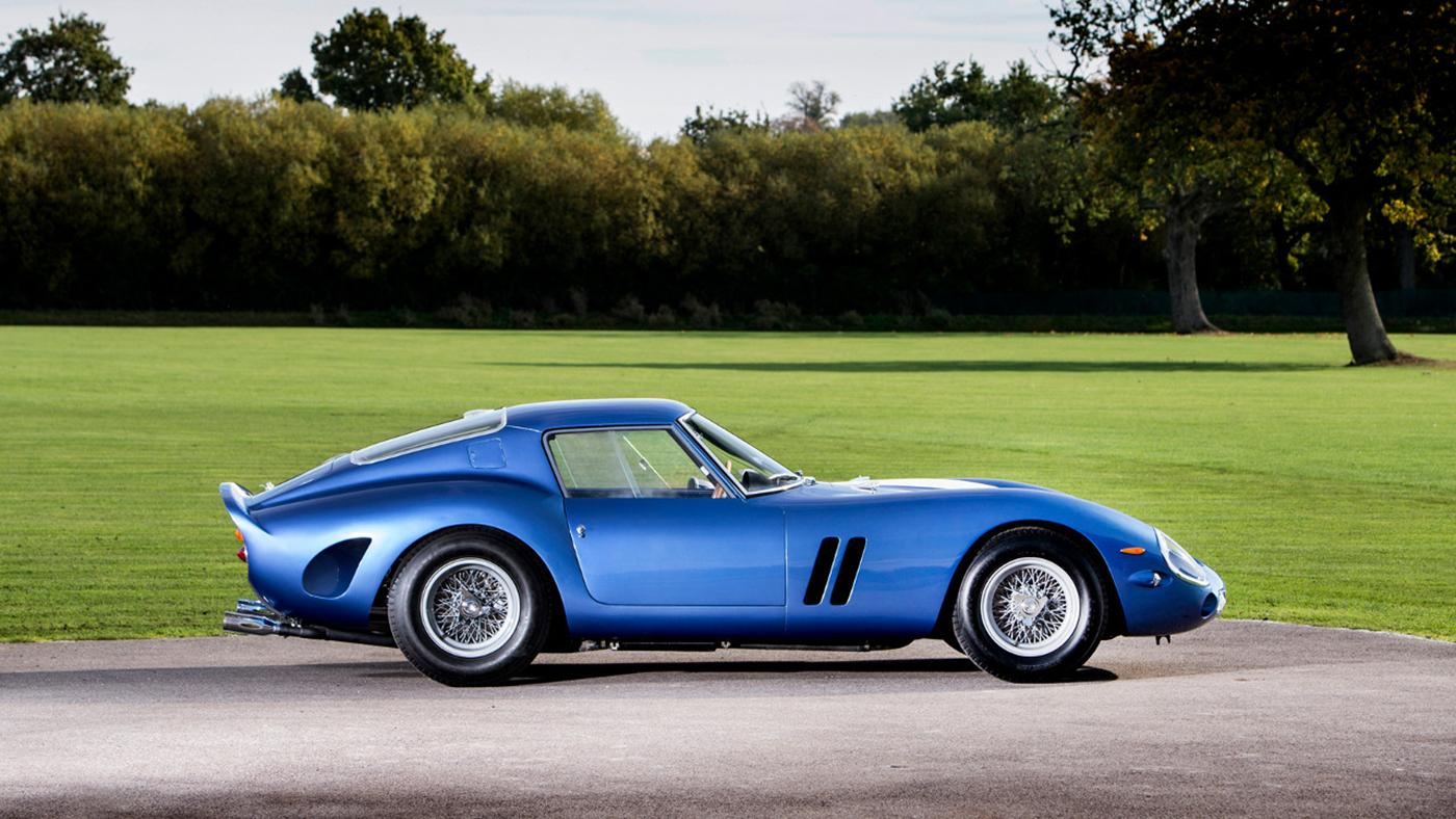 This blue Ferrari 250 GTO is available from British prestige car specialist Talacrest, with a price tag of $55.8 million