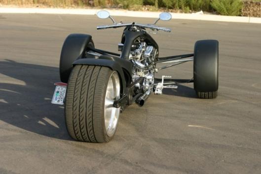 Low-profile 325 rear tire