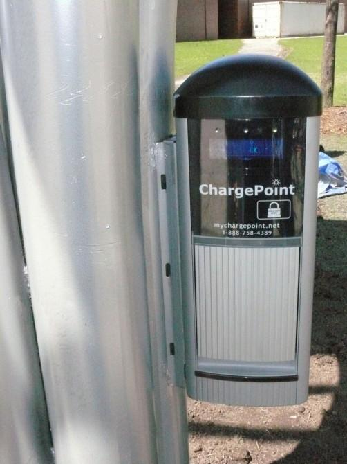 Coulomb Technologies Charge Point