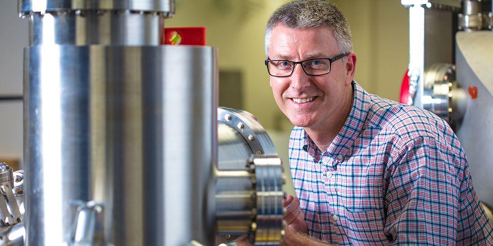 University of Arkansas physics professor Paul Thibado led the research