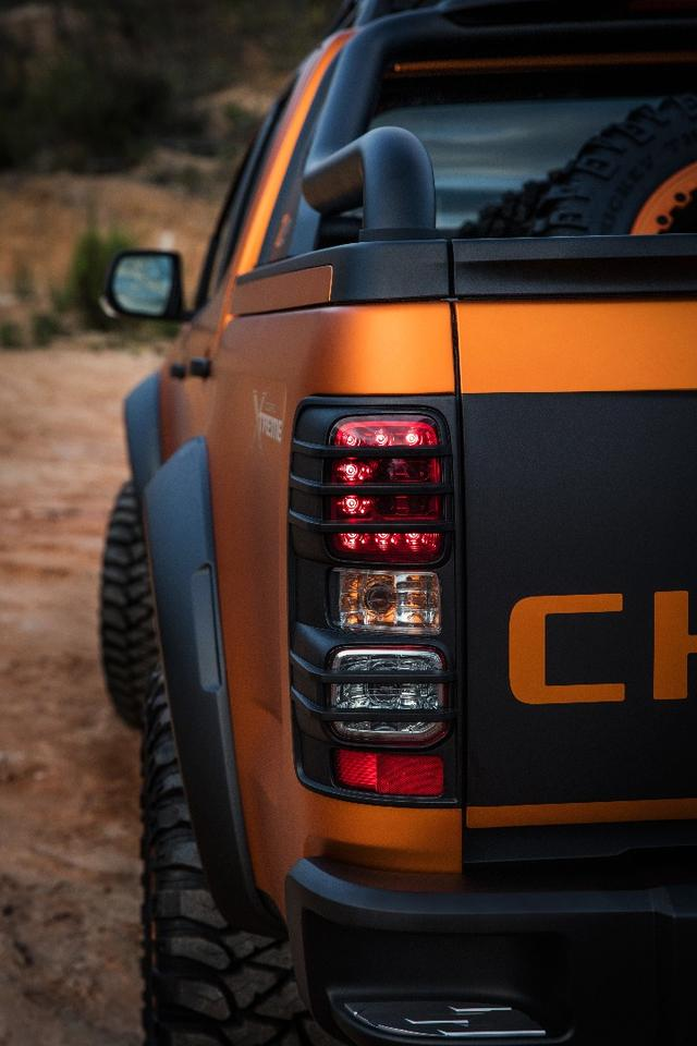 The Colorado Xtreme features a ruggedized off-road build