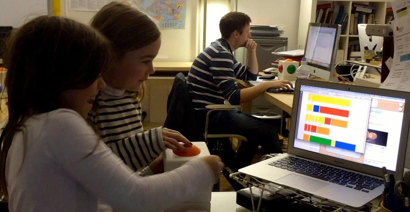 The original Skoog was developed for kids with disabilities and education