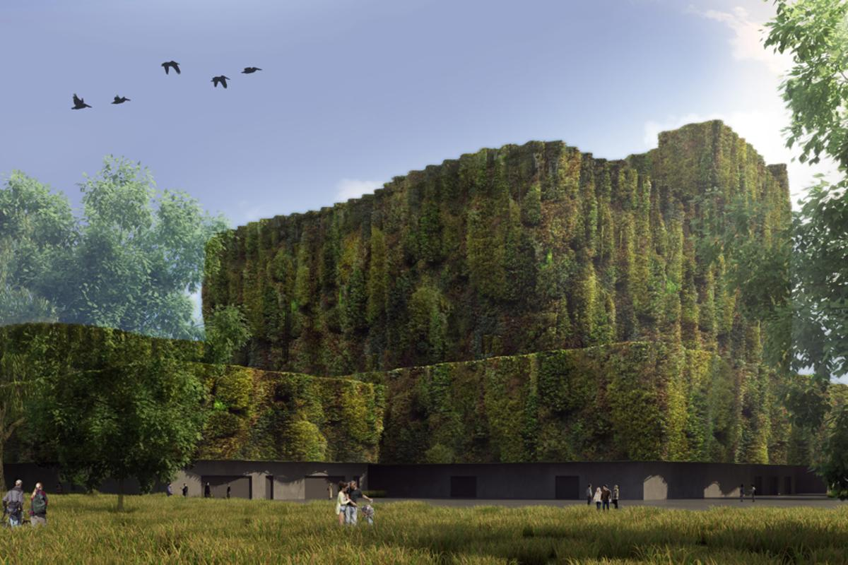AZPA's proposal for a new gas power station in Wedel, Germany asks, why do power stations always look like power stations? (Image: AZPA)