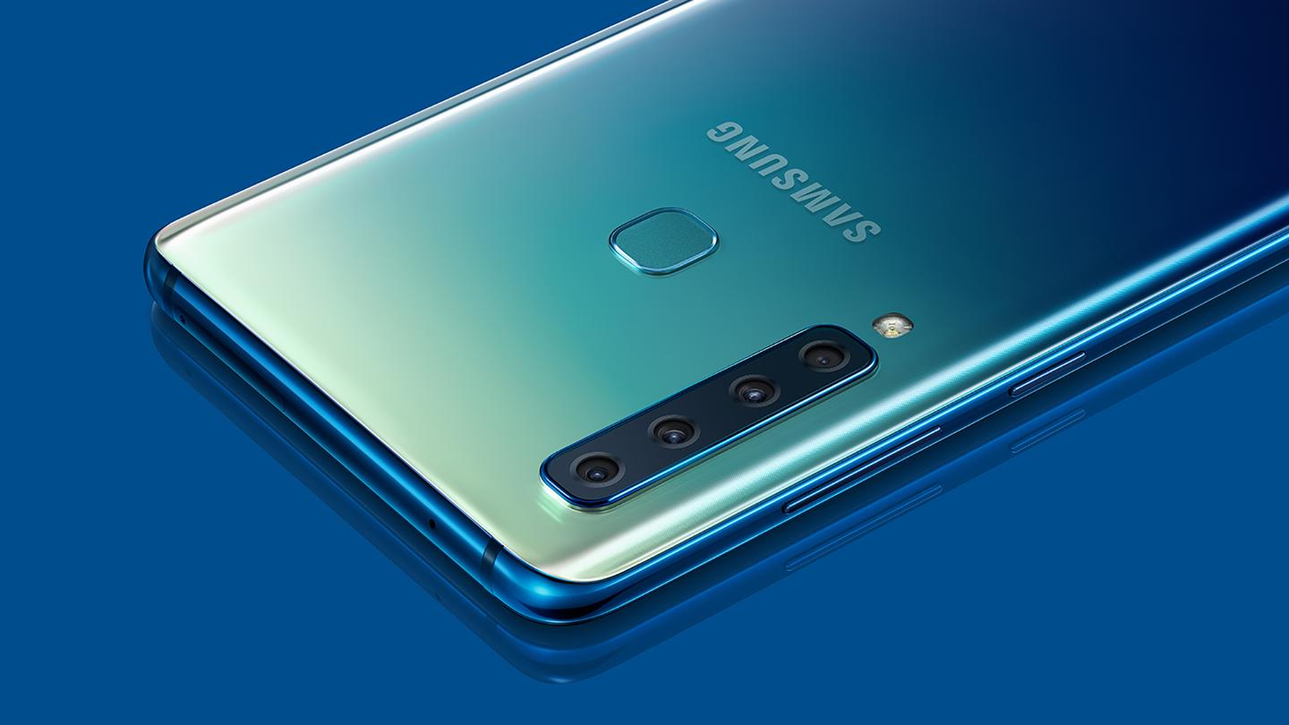 The Samsung Galaxy A9 is the first to emerge with a quad-camera setup