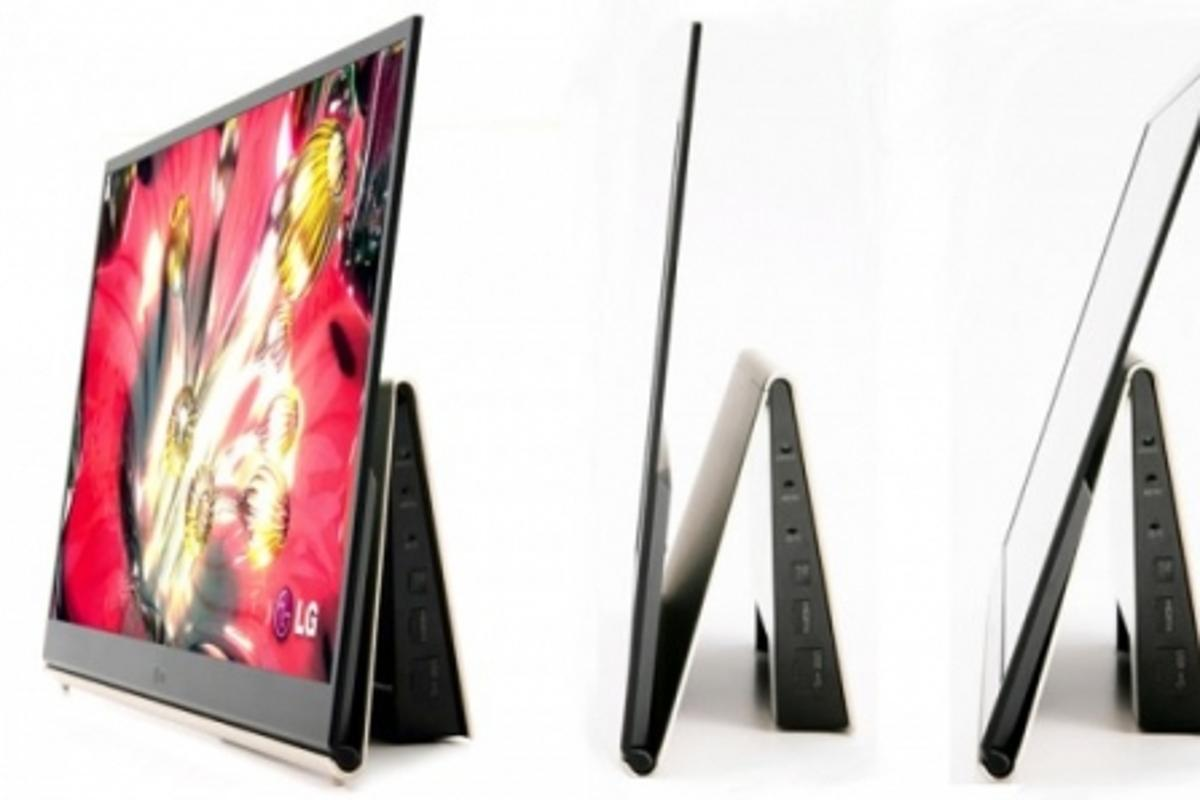 Thin is in for LG's 15-inch OLED TV
