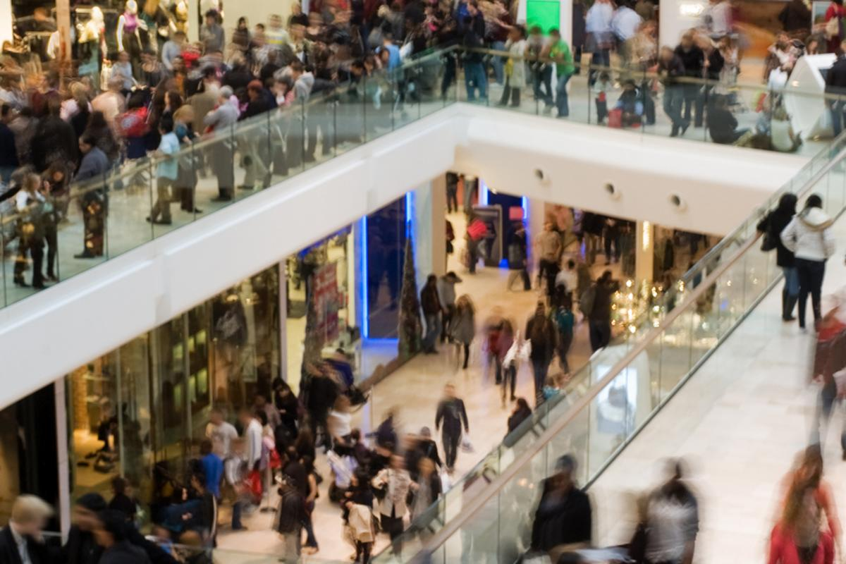 UnLoc could make navigating sprawling indoor environments such as shopping malls much easier to navigate (Photo: Shutterstock)