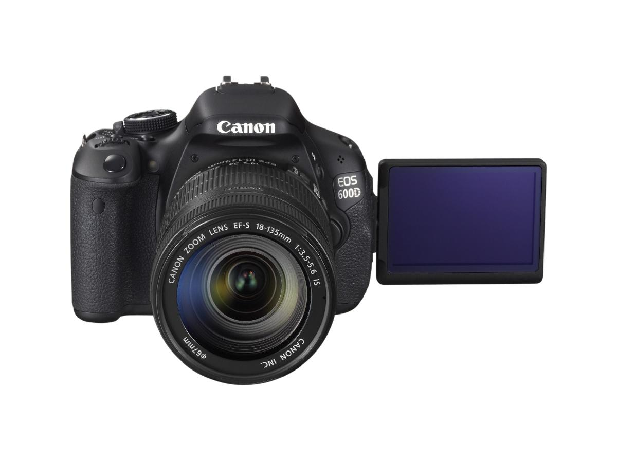 Canon has unveiled its EOS 600D (pictured) and 1100D DSLR cameras