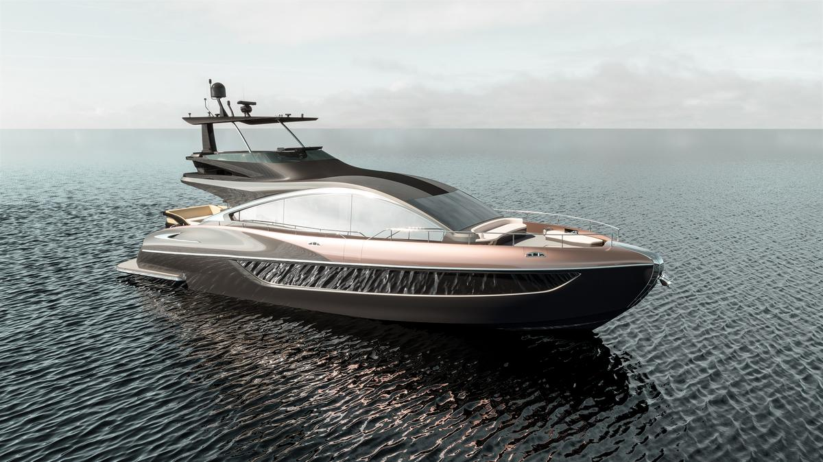 Lexus has previously said sales of its luxury yachtwill begin in the second half of 2019
