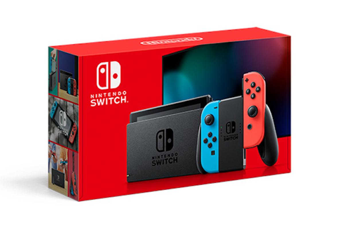 The Nintendo Switch has had a slight upgrade with a better battery, identifiable from the old models by the new red packaging