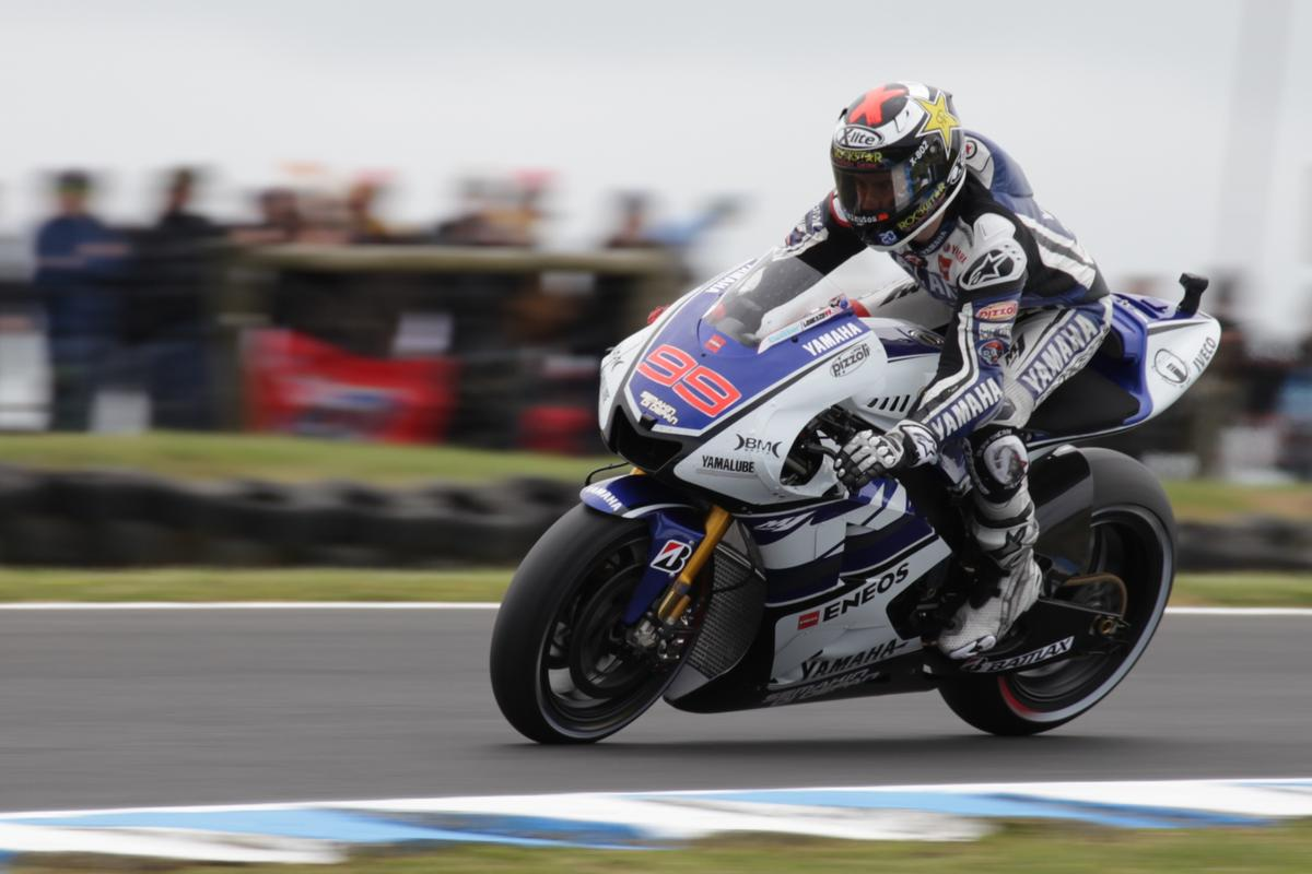 Lorenzo takes his second world title (Photo: Olivier Bochsler)