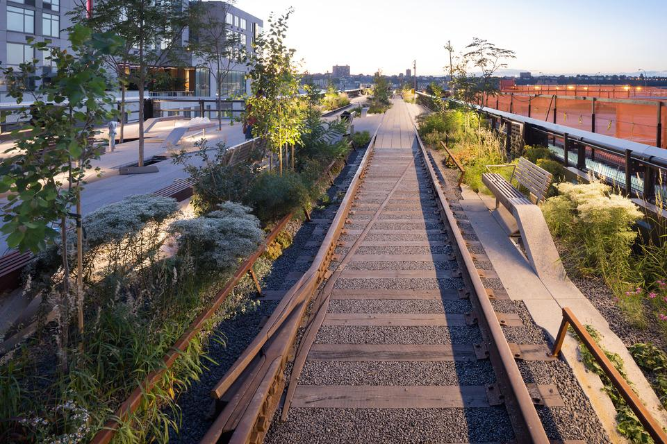 High Line at the Rail Yards is the third and northernmost section of the High Line to be opened (Photo: Iwan Baan)
