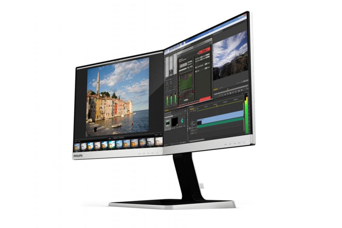 Philips Two-in-One display combines two 19-inch monitors