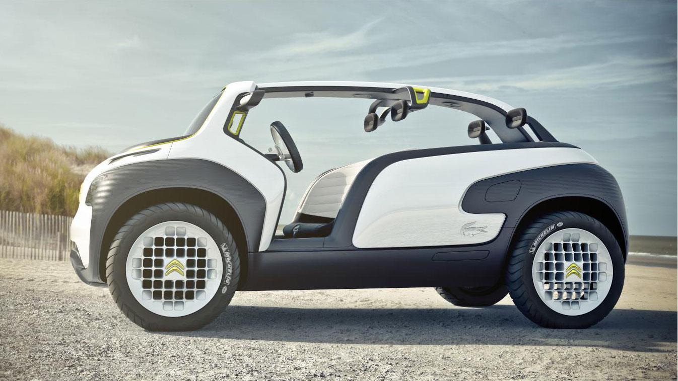 The open-air Citroen Lacoste concept
