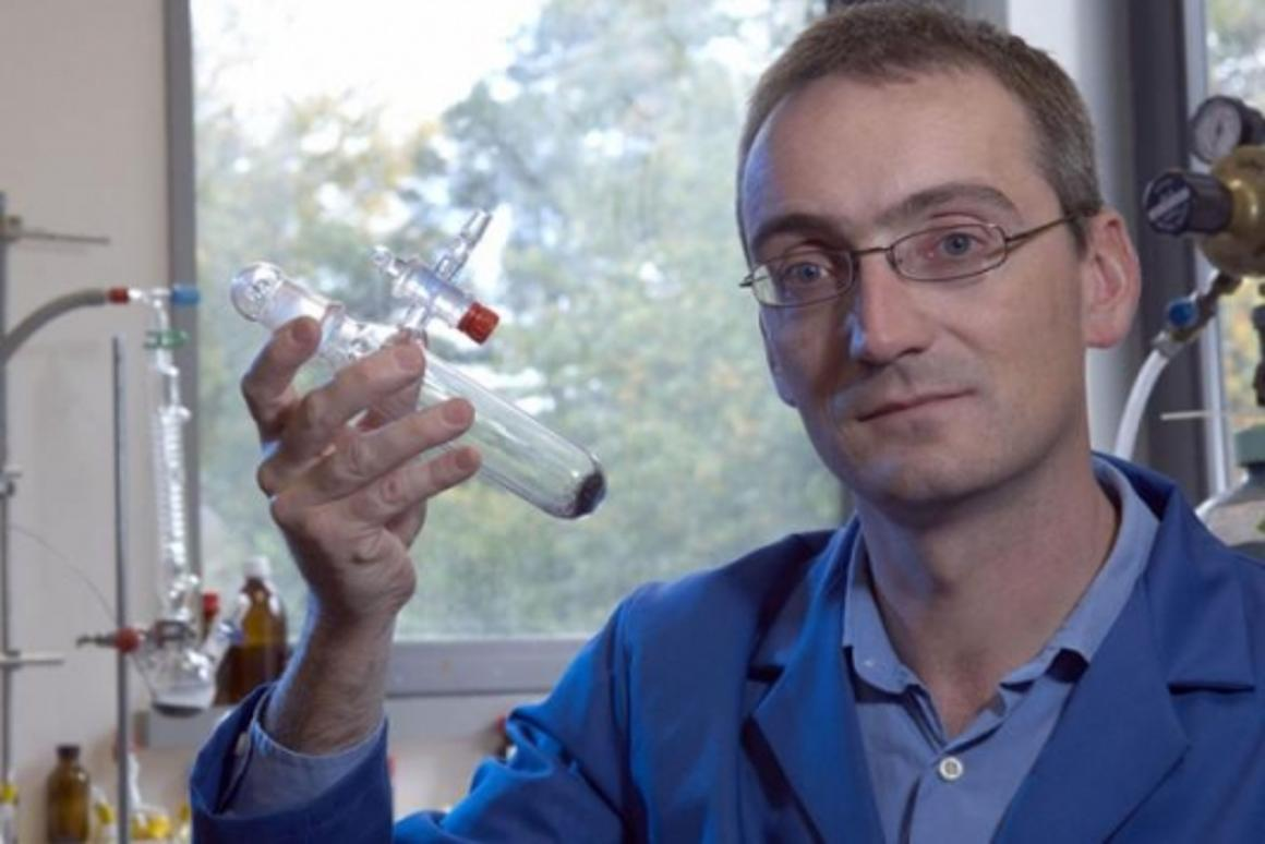 Dr Andrew Weller from the Department of Chemistry at the University of Bath (UK)