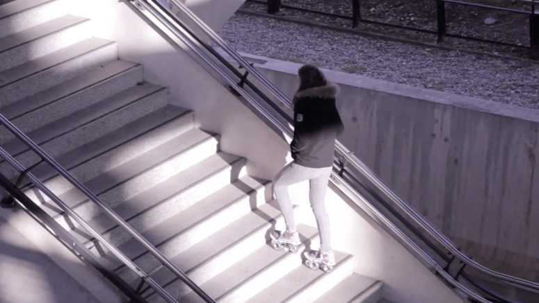 Rollkers are designed to be agile and stable enough to walk up stairs