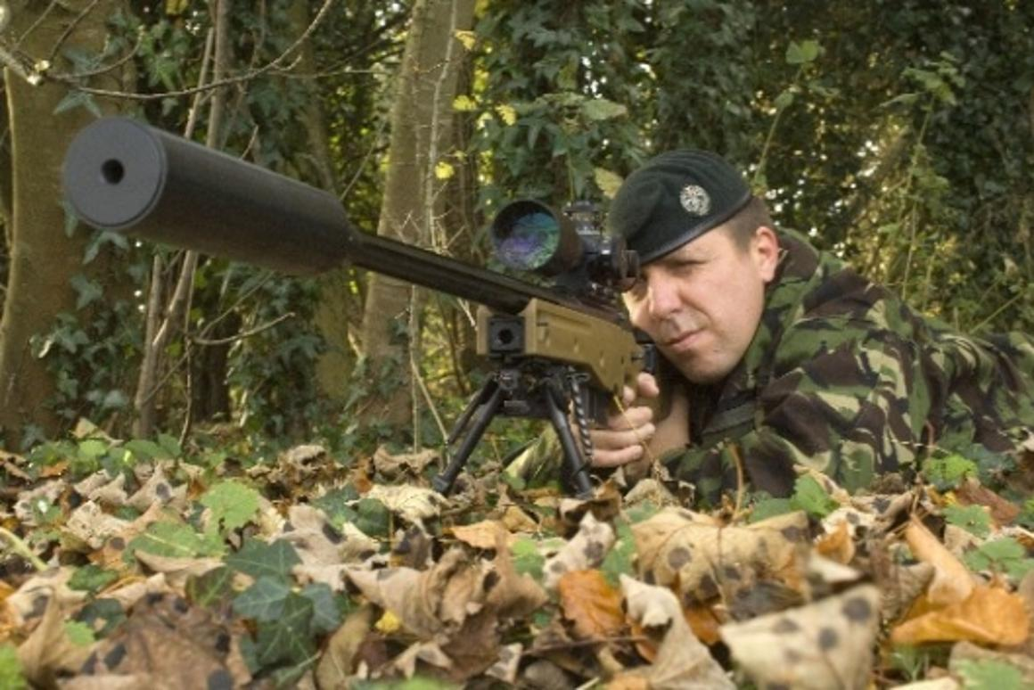 Accuracy International's L115A3 - the best  338 sniper rifle