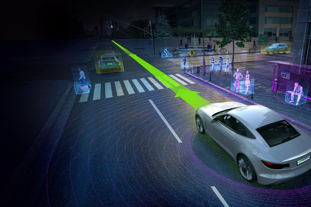 The new computer uses deep learning for advanced object detection and path planning