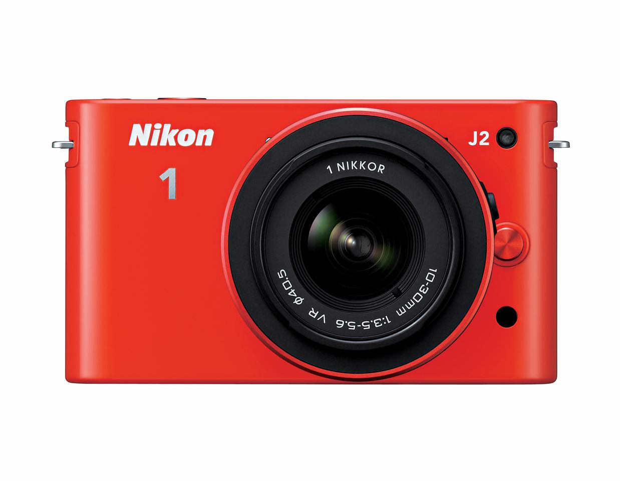 The new Nikon 1 J2 has been given the same 10.1-megapixel CX-format CMOS sensor, EXPEED 3 dual-core image processing engine and ISO range as the J1 before it
