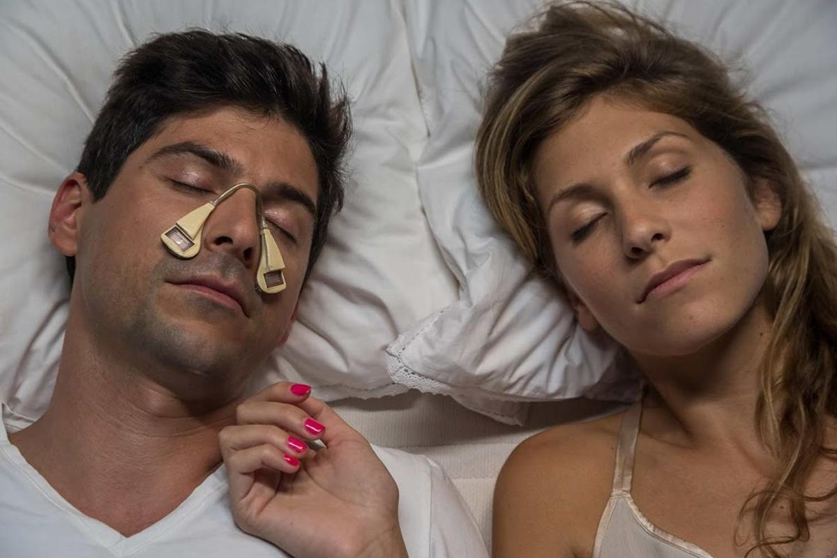 The Silent Partner is claimed to cancel out snoring sounds