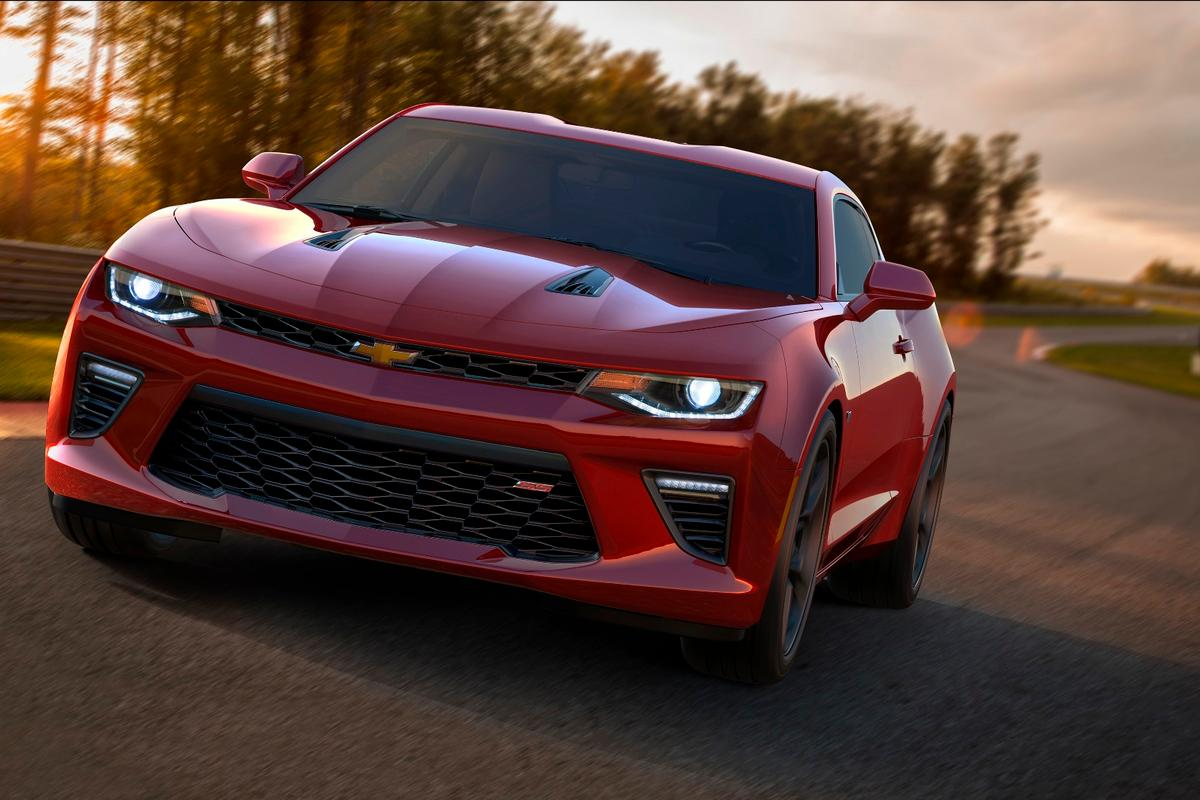 The Camaro's more modern styling follows a similar path to that taken by the new Mustang
