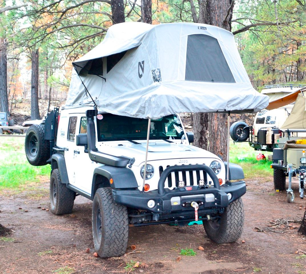 AT Overland JK Habitat at Overland Expo 2015