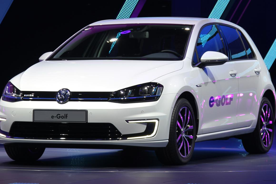 VW's new e-Golf (Photo: Gizmag)