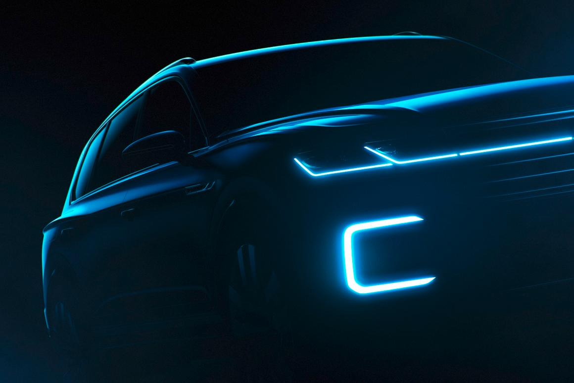 The VW Beijing is designed to show us what the next upmarket VW SUV will look like