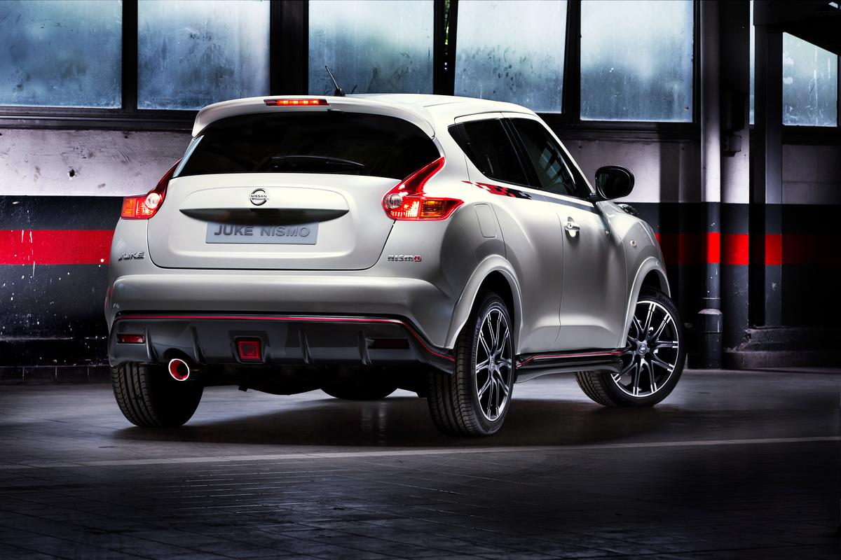 The Juke Nismo gets a body kit and performance upgrades
