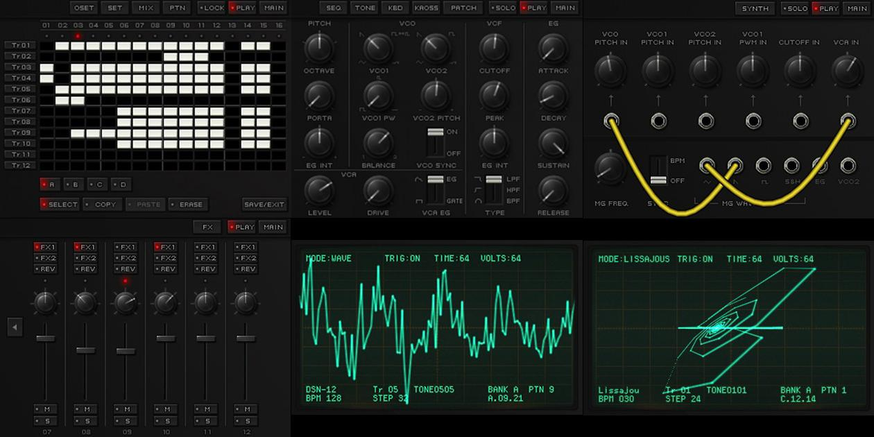 Korg brings classic synth sounds and 3D oscilloscope to the