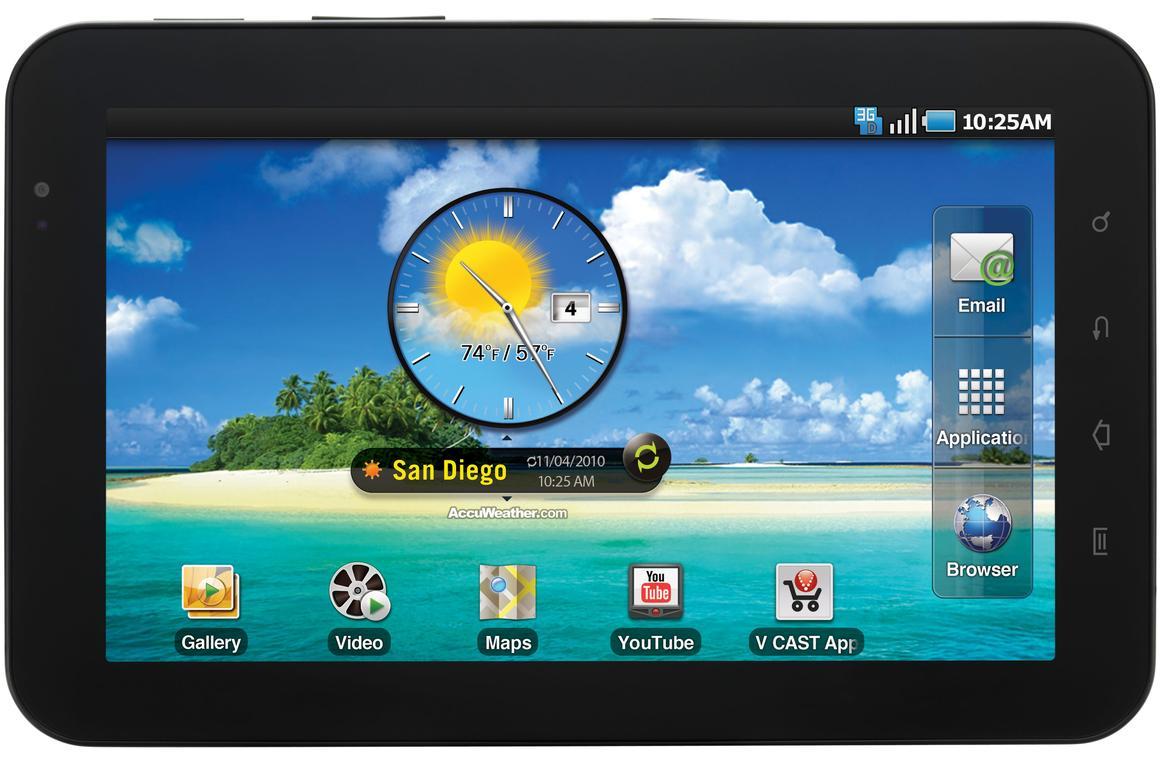 Samsung's Galaxy Tab has hit the U.S. market