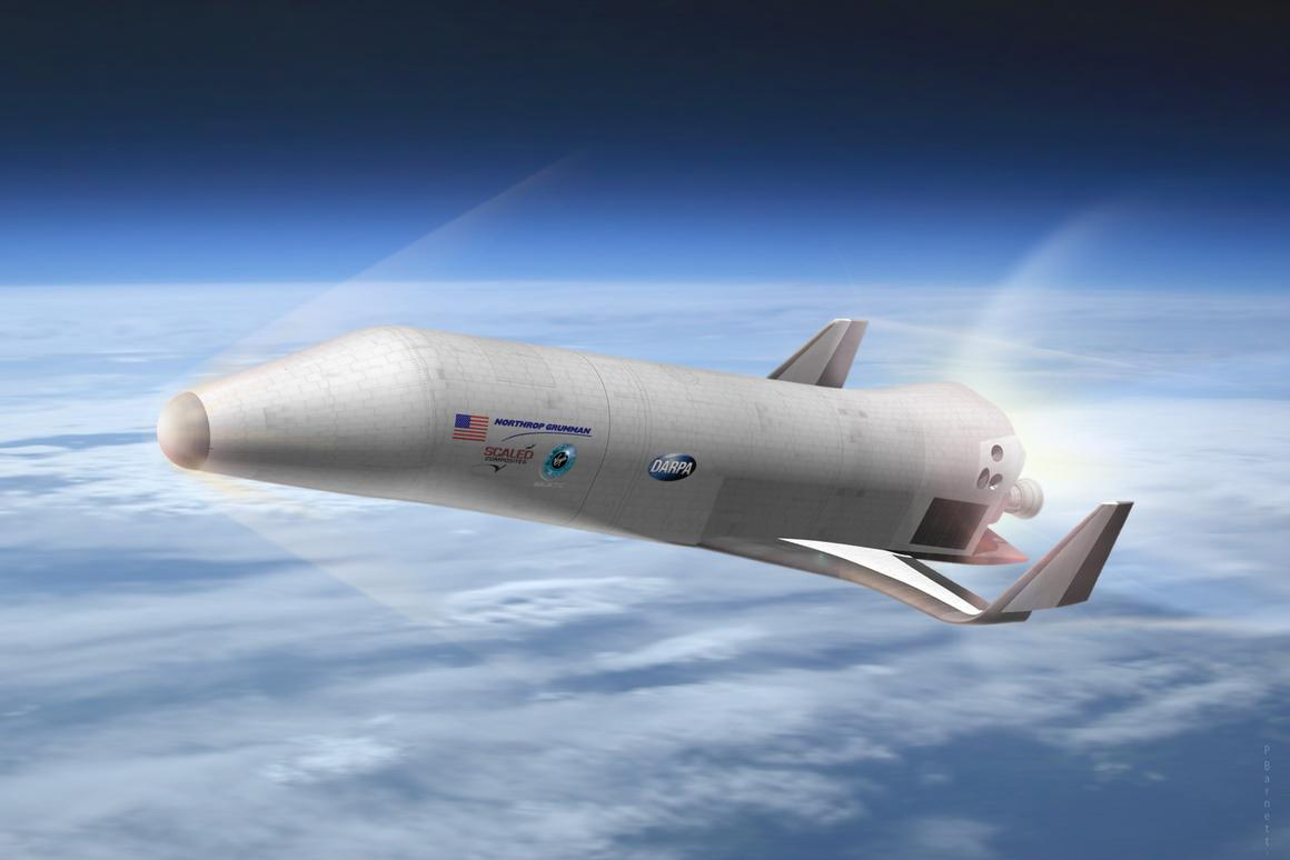 Northrop Grumman's preliminary design for DARPA's Experimental Spaceplane XS-1 (Image: Northrop Grumman)