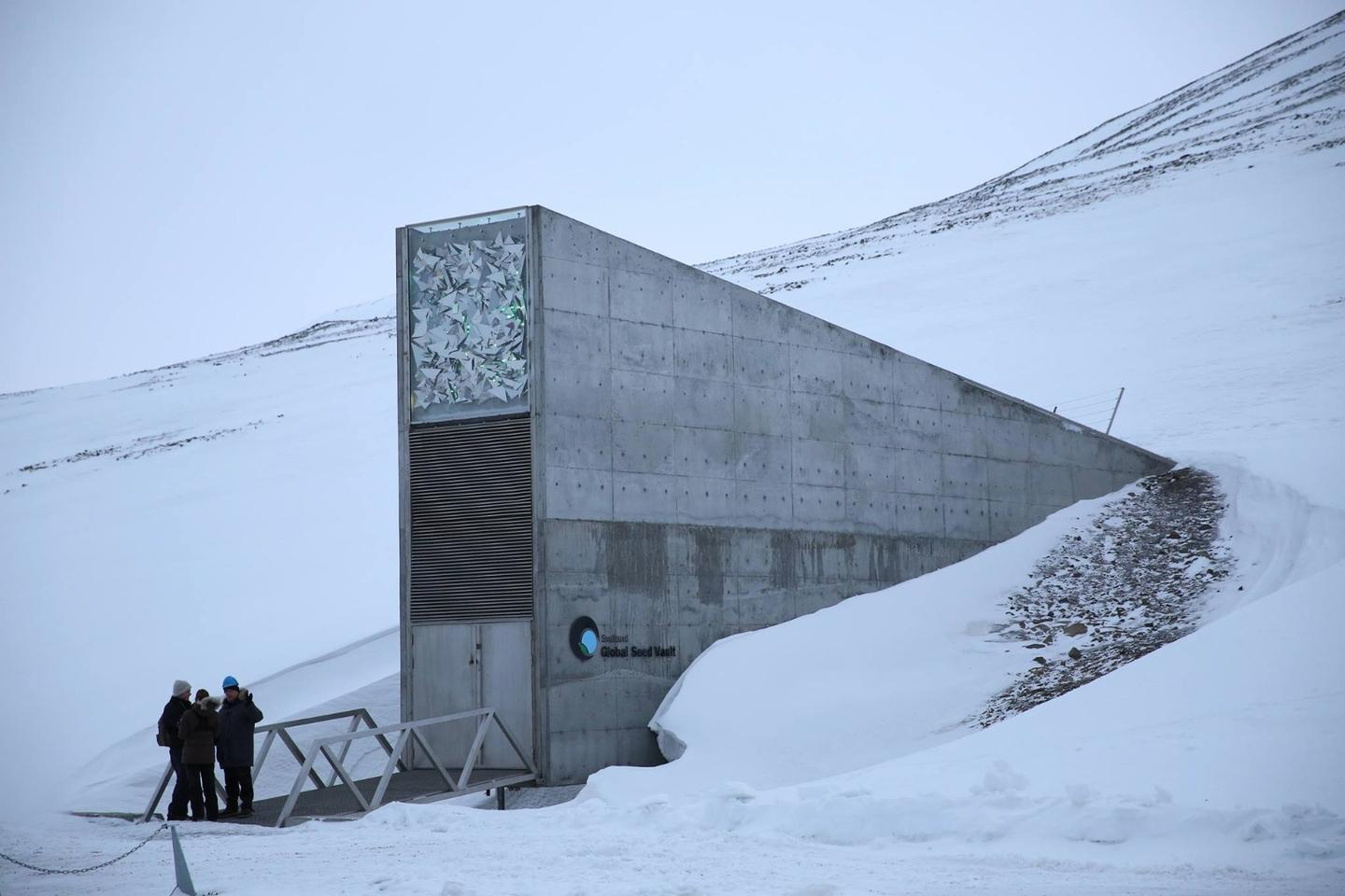 The Svalbard Global Seed Vault is home to the world's largest seed collection