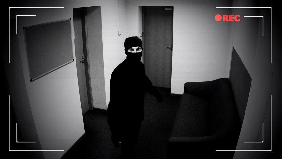 It is suggested that the system could be used to tell if a person hiding in a house was actually a bank robber, who was earlier recorded by a bank's security cameras