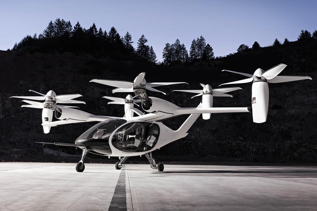 Joby Aviation has finally released photos of its extraordinary tilt-rotor eVTOL air taxi