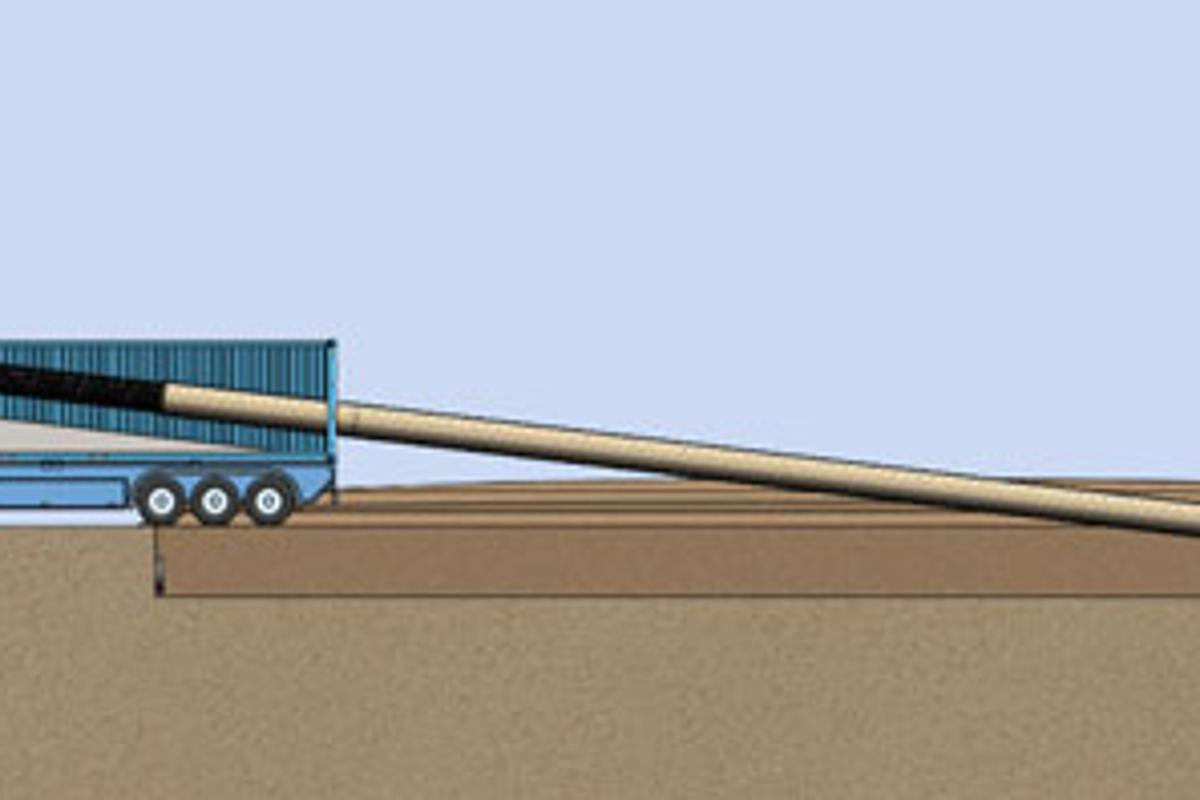 The InfinitiPipe can be manufactured on site (Image: University of Arizona)