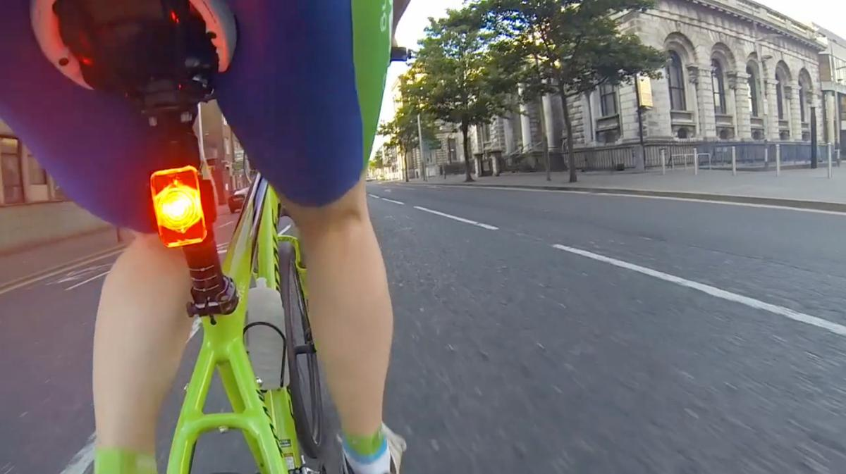 SeeSense lights can reportedly determine the traffic conditions in which their user is cycling, and adjust their output in response