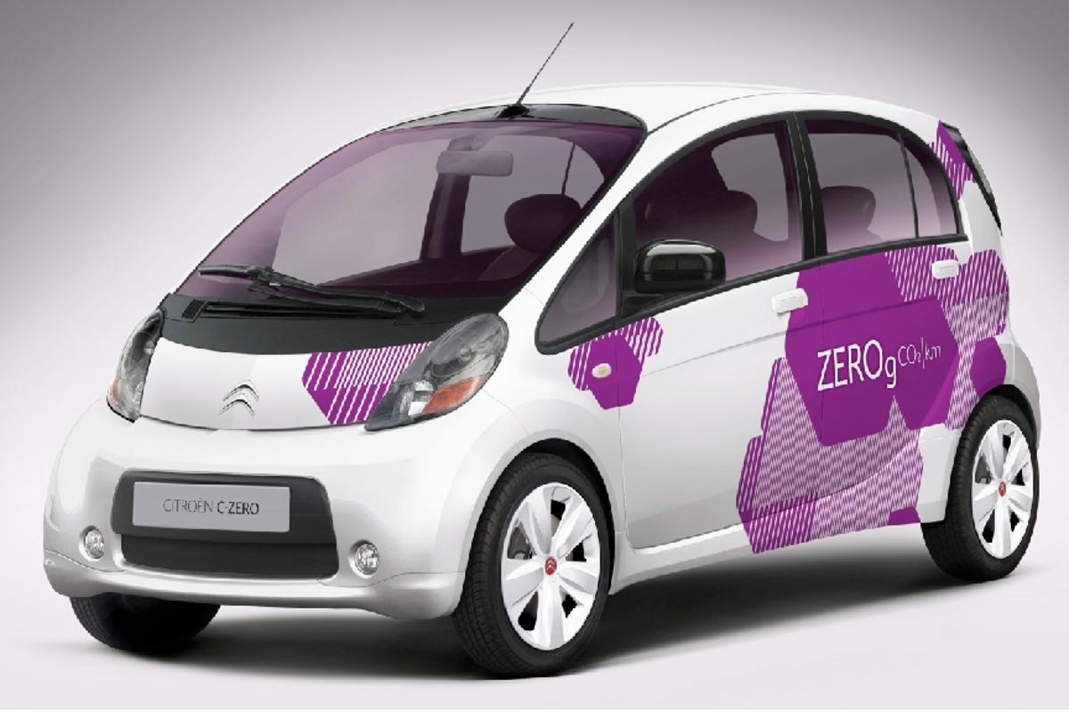 The Citroen C-ZERO - full electric compact car due for release in Q4 2010