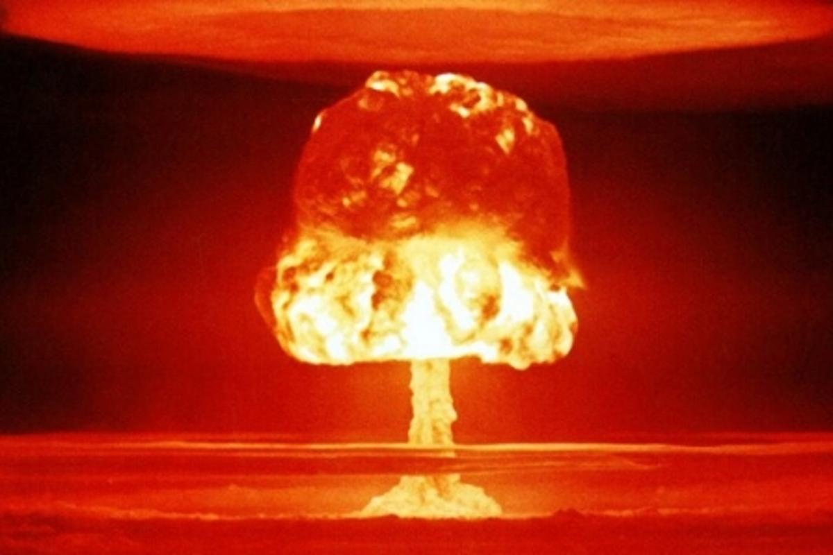 No need to worry, it's just a nuclear blast