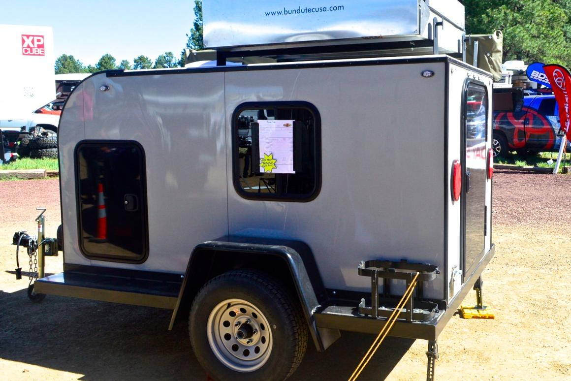 Shreddin' teardrops and other off-road camping trailers of