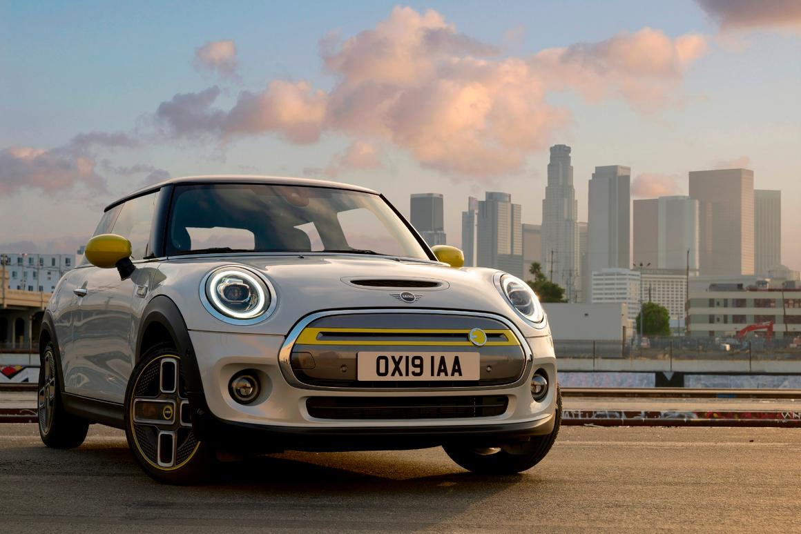 Mini's first all-electric Cooper