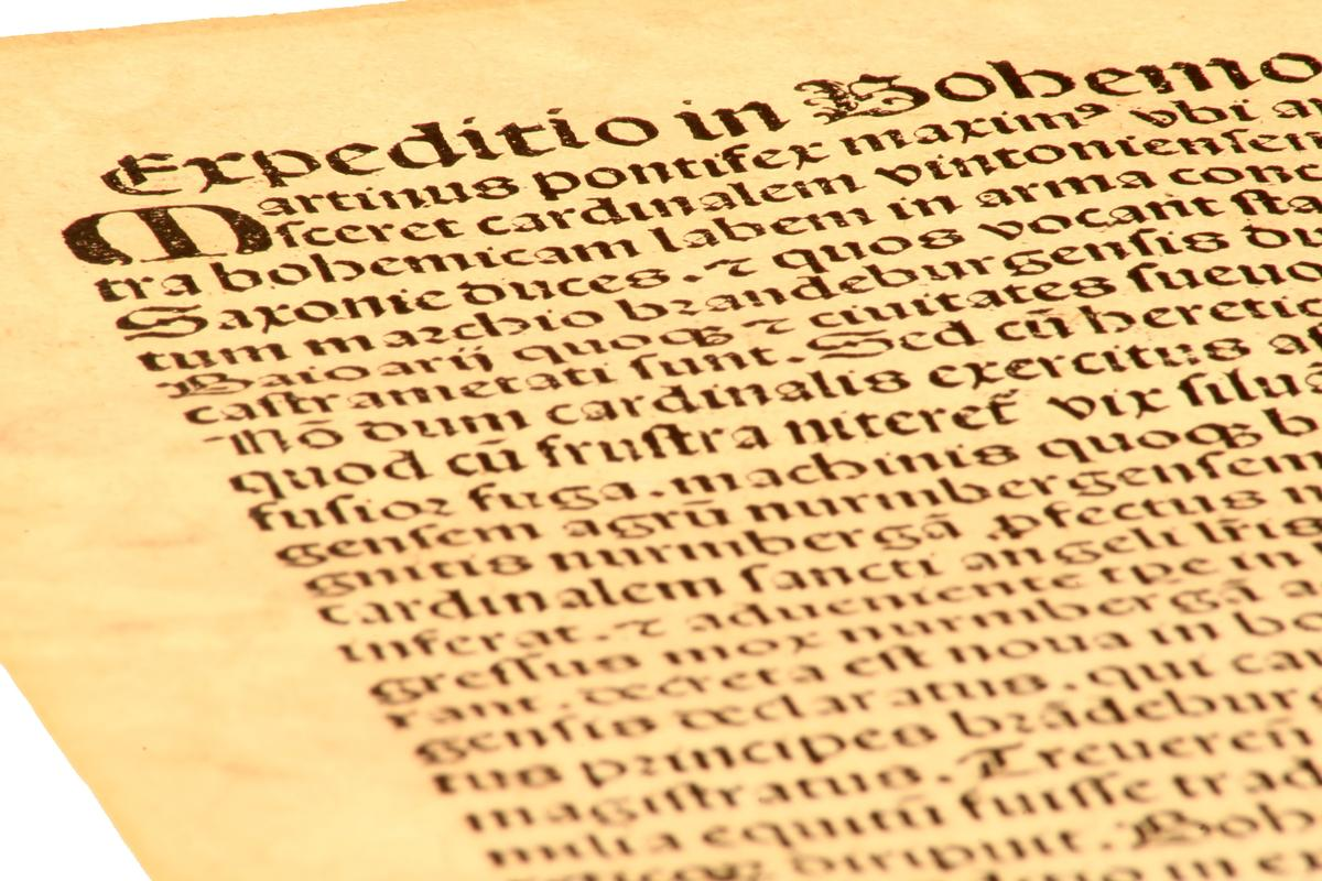 Incunabulum of the Nurenberg Chronicle (1483), edited by Hartmann Schedel (Photo: I. Pilon/Shutterstock)
