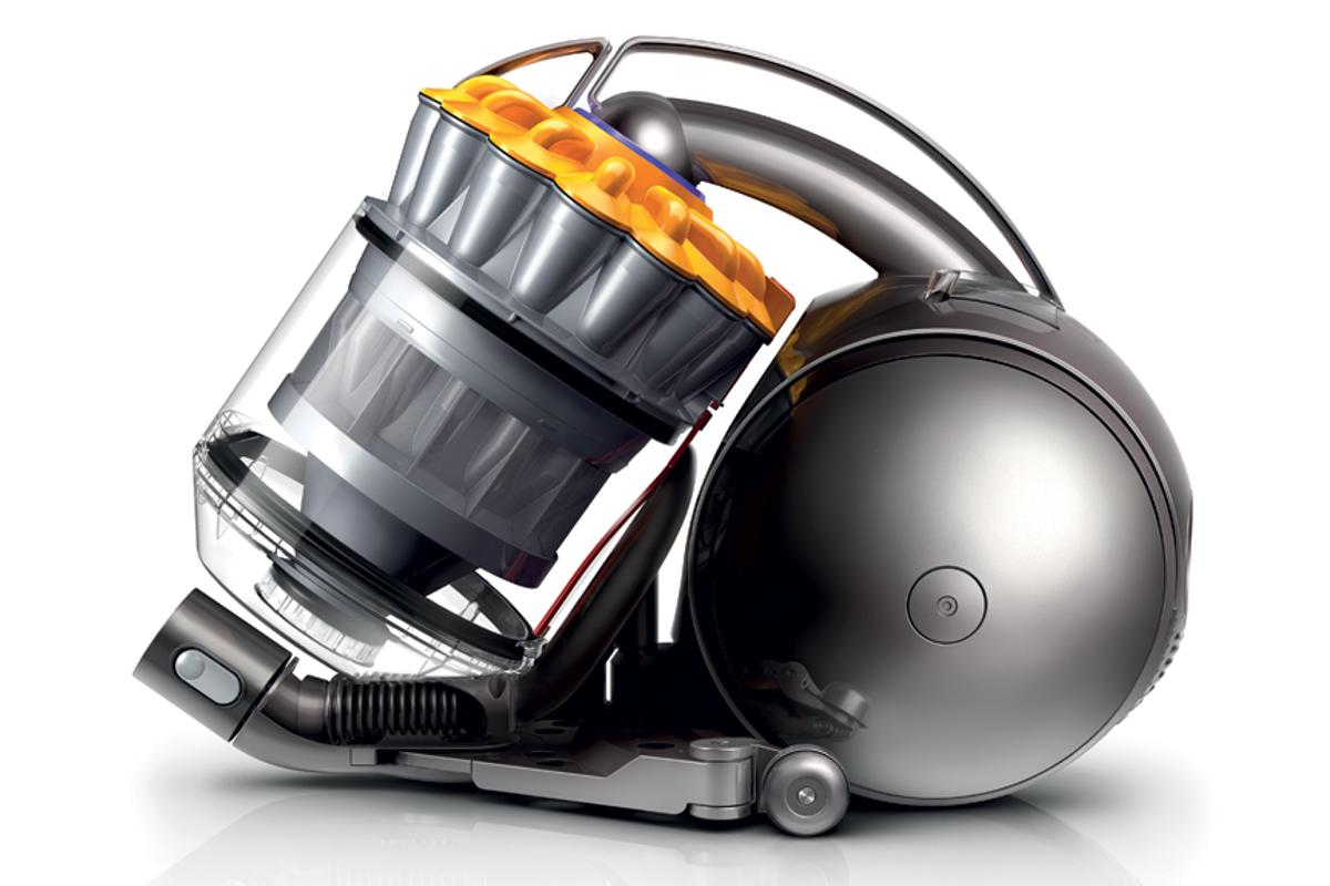 Dyson's new DC37 is the company's first cylinder vacuum to feature Ball technology