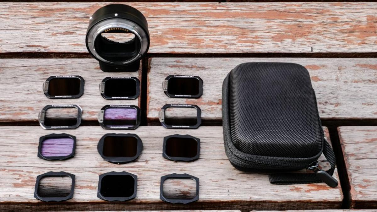 One set of filters for every lens is the promise of Aurora Aperture's revolutionary filter system
