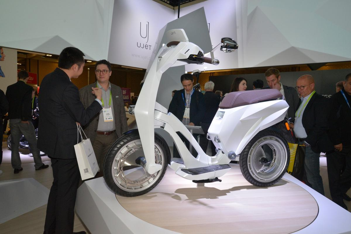 The Ujet scooter debuts at CES2018