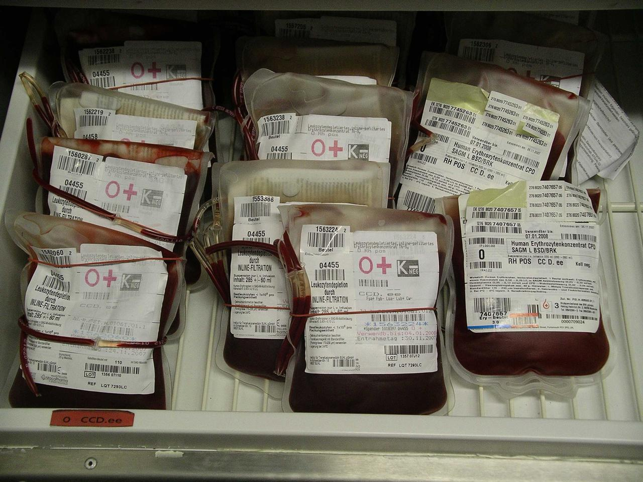 Intelligent, radio-enabled blood bags could monitor blood temperature to avoid wastes and track supplies in real time.