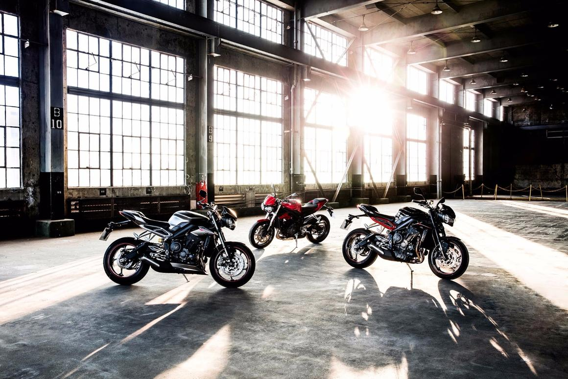 2017 Triumph Street Triple: the king of the middleweights just got a lot more compelling, to an even wider range of riders
