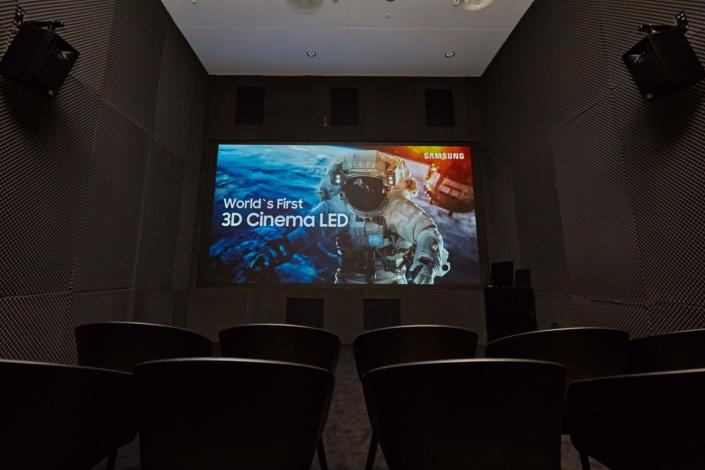 Samsung's 3D Cinema LED screen has debuted at ISE 2018 in Amsterdam