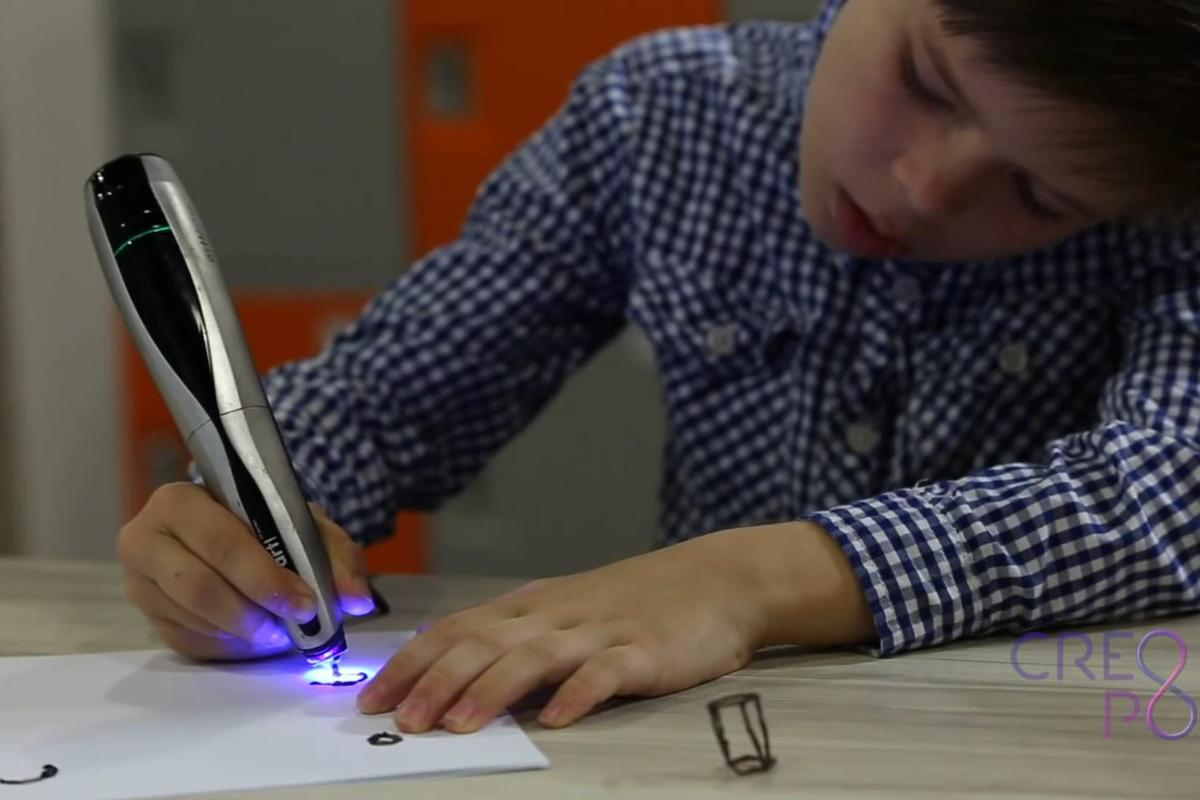 "The CreoPop ""cool ink"" 3D sketch pen"